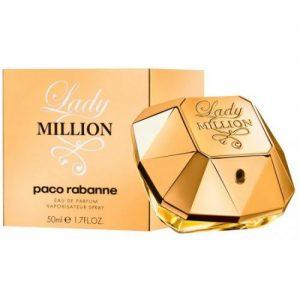 אונליין   Paco Rabanne Lady Million E.D.P 50ml