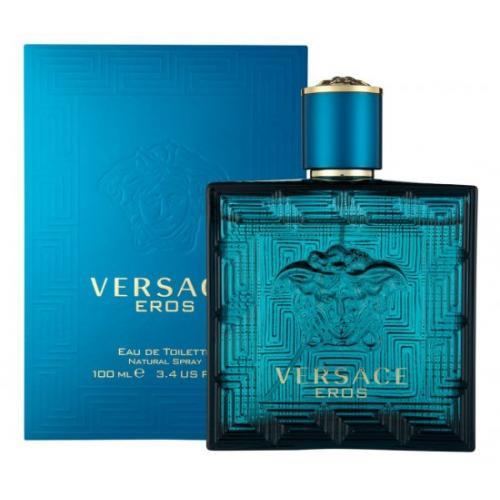 אונליין   Versace Eros 100mlE.D.T