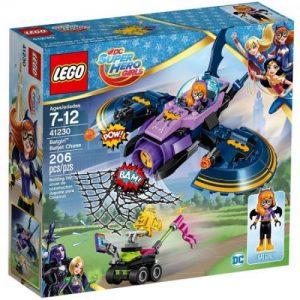 אונליין  LEGO Dc Super Hero Girls Batgirl Batjet Chase 41230