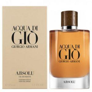 אונליין   125 '' Giorgio Armani Acqua Di Gio Absolu