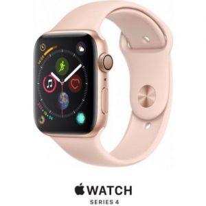 אונליין   Apple Watch Series 4 44mm   Gold Aluminium   Pink Sand Sport Band