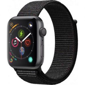 אונליין   Apple Watch Series 4 44mm   Space Grey Aluminium   Black Sport Loop