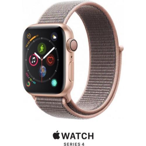 אונליין   Apple Watch Series 4 40mm   Gold Aluminium   Pink Sand Sport Loop