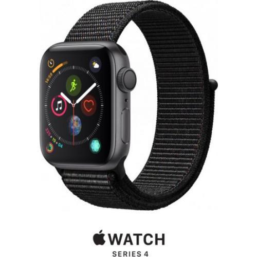 אונליין   Apple Watch Series 4 40mm   Space Grey Aluminium   Black Sport Loop