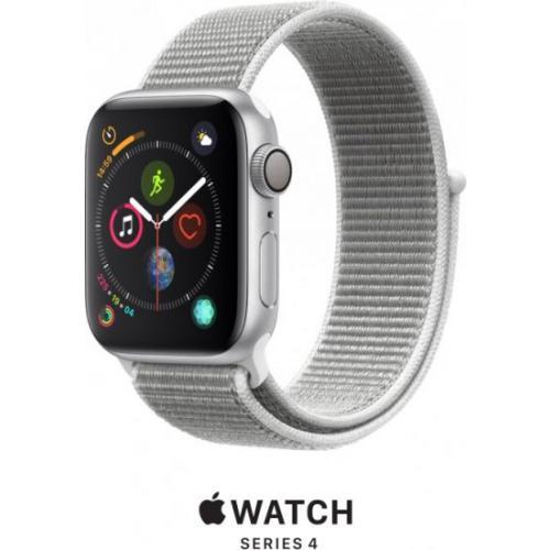 אונליין   Apple Watch Series 4 40mm   Silver Aluminium   Seashell Sport Loop