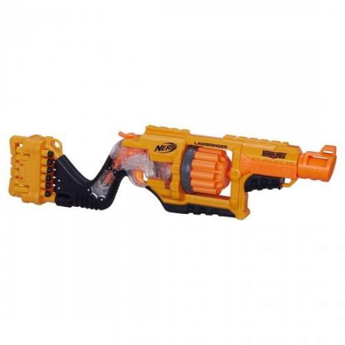 אונליין   Nerf Lawbringer Blaster B3189