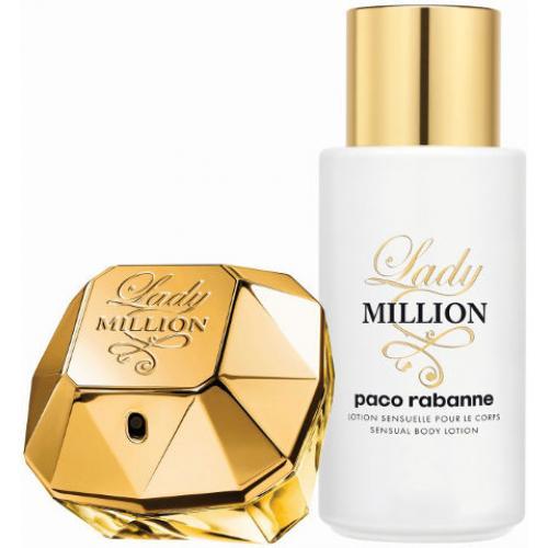 אונליין    50 '' Paco Rabanne Lady Million    + 200 ''