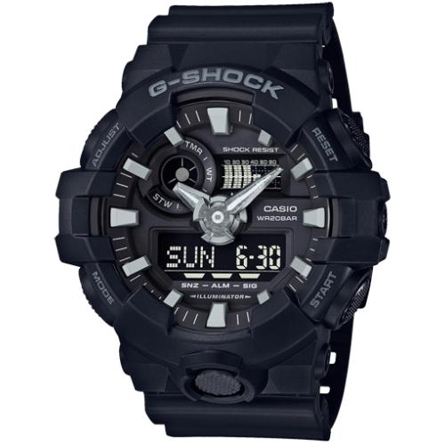 אונליין     Casio G-Shock GA-700-1BDR
