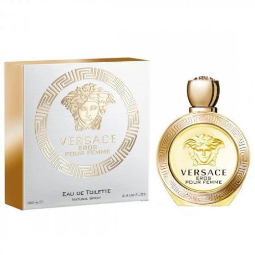 אונליין   100 '' Versace Eros Pour Femme    E.D.T