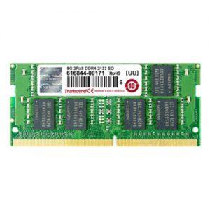 אונליין    Transcend 4GB DDR4 2133Mhz CL15 SODIMM