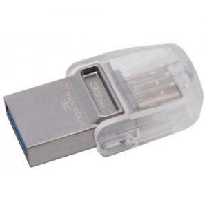 אונליין   USB Kingston DataTraveler microDuo 3C 3.1 32GB DTDUO3C/32GB