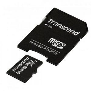 אונליין   Transcend TS64GUSDXC10