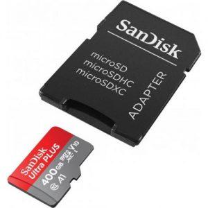 אונליין   SanDisk Ultra 667x Micro SDXC UHS-I SDSQUAR-400G -  400GB