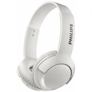 אונליין   On Ear    Philips BASS+ Bluetooth SHB3075WH/00 -