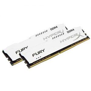אונליין   HyperX FURY White 2x16GB DDR4 3200MHz CL18 Kit