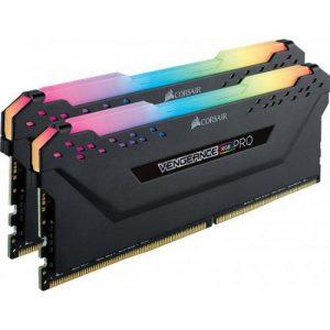 אונליין   Corsair Vengeance RGB PRO 2x8GB DDR4 3200MHz CL16 Kit