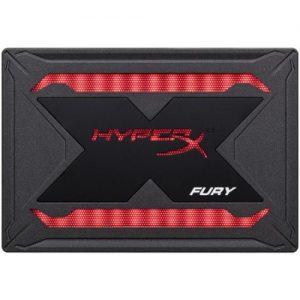 אונליין   Kingston HyperX FURY RGB 960GB SSD SATA III SHFR200/960G