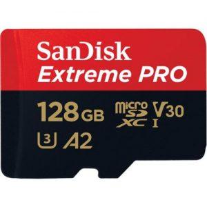אונליין   SanDisk Extreme Pro A2 Micro SDXC UHS-I SDSQXCY-128G -  128GB