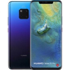 אונליין   Huawei Mate 20 Pro 128GB  Twilight -