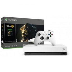 אונליין   Microsoft Xbox One X -  1TB -     FallOut 76