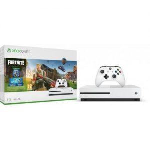 אונליין   Microsoft Xbox One S -  1TB   Fortnite