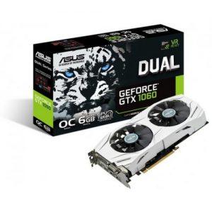 אונליין   Asus GeForce GTX 1060 DUAL-GTX1060-O6G