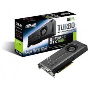 אונליין   Asus GeForce GTX 1060 TURBO-GTX1060-6G