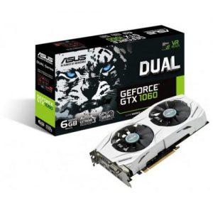 אונליין   Asus GTX 1060 DUAL 6GB GDDR5 DVI 2xHDMI 2xDP PCI-E