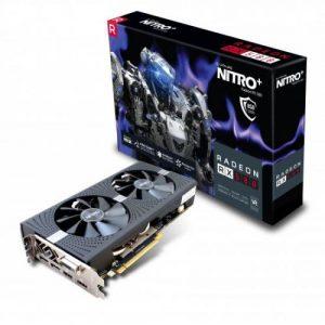אונליין   Sapphire Radeon RX 580 NITRO+ OC 8GB GDDR5 DVI 2xHDMI 2xDP PCI-E