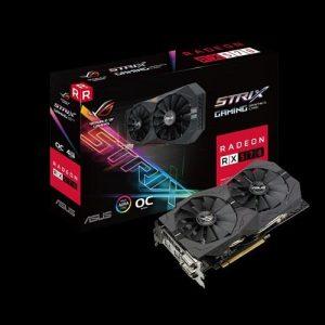 אונליין   Asus Radeon ROG STRIX RX 570 Gaming 4GB OC GDDR5 2xDVI HDMI DP PCI-E