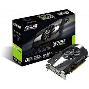 אונליין   Asus GTX 1060 Phoenix 3GB GDDR5 DVI 2xHDMI 2xDP PCI-E