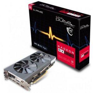 אונליין   Sapphire Radeon RX 570 PULSE OC 8GB GDDR5 DVI 2xHDMI 2xDP PCI-E