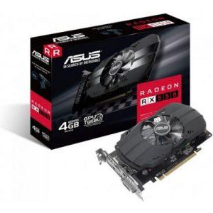 אונליין   Asus Radeon RX 550 4GB GDDR5 DVI HDMI DP PCI-E