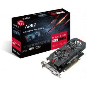 אונליין   Asus AREZ Radeon RX 560 4GB GDDR5 DVI HDMI DP PCI-E