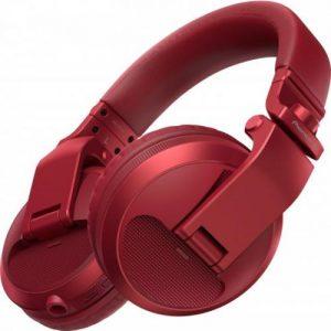 אונליין   Over-ear  Pioneer Bluetooth HDJ-X5BT-R -