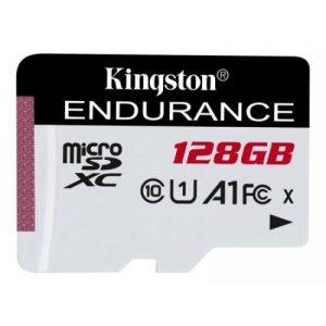 אונליין   Kingston Micro SDXC High Endurance UHS-I U1 128GB Class-10 Card SDCE/128GB -  128GB