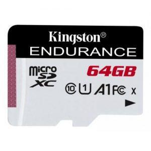 אונליין   Kingston Micro SDXC High Endurance UHS-I U1 64GB Class-10 Card SDCE/64GB -  64GB