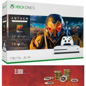אונליין   Microsoft Xbox One S -  1TB   Anthem Legion Of Dawn Edition   -Apex Legends