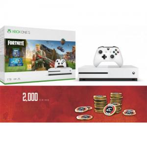 אונליין   Microsoft Xbox One S -  1TB   Fortnite   -Apex Legends