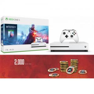 אונליין   Microsoft Xbox One S -  1TB   Battlefield V   -Apex Legends