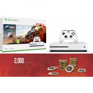 אונליין   Microsoft Xbox One S -  1TB   Forza Horizon 4   -Apex Legends