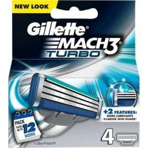 אונליין 4   Gillette Mach 3 Turbo