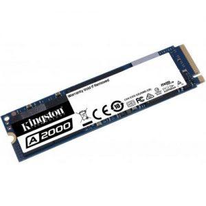 אונליין  Kingston A2000 M.2 SA2000M8/500G 500GB SSD PCIe NVMe