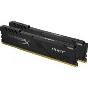 אונליין   HyperX FURY Black 2x8GB DDR4 2400MHz CL15 Kit