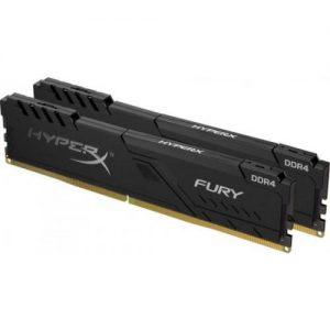 אונליין   HyperX FURY Black 2x8GB DDR4 3200MHz CL16 Kit