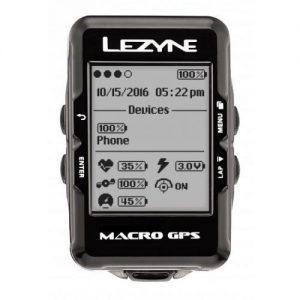 אונליין   Lezyne Macro GPS Y10 -