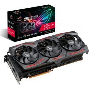 אונליין   Asus ROG STRIX Radeon RX 5700 OC GAMING 8GB GDDR6 HDMI 3xDP