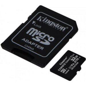 אונליין     Kingston Micro SDHC Canvas Select Plus UHS-I SDCS2/32GB -  32GB