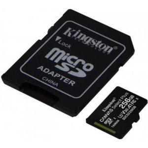 אונליין     Kingston Micro SDXC Canvas Select Plus UHS-I SDCS2/256GB -  256GB