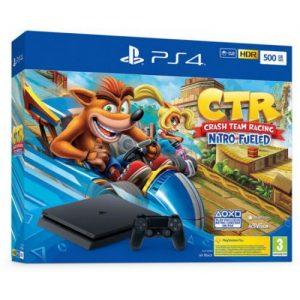אונליין   Sony PlayStation 4 Slim 500GB -    Crash Team Racing Nitro-Fueled